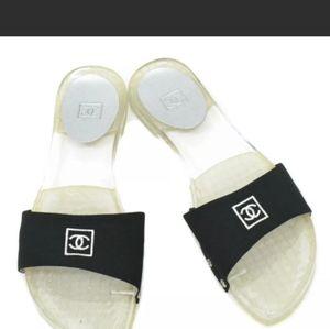 🥳HP🥳Chanel Authentic Mark Women's Slides